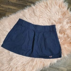 Navy Blue Hollister Skirt